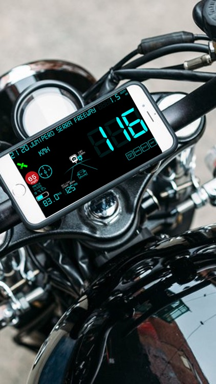 Speedmeter mph digital display screenshot-5