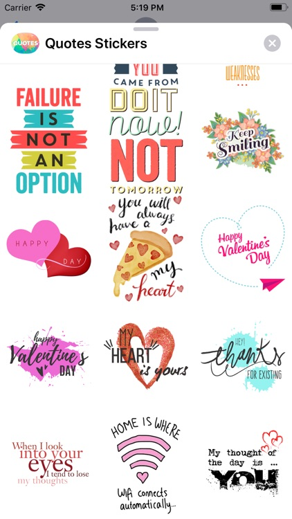 Quotes: Motivational Stickers screenshot-9