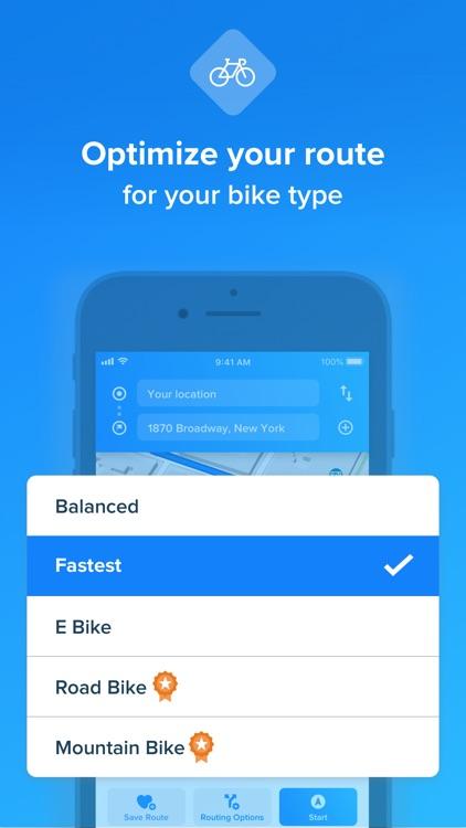 Bikemap - Cycling Map & GPS screenshot-3