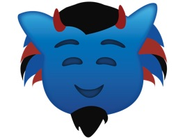 Show off your Blue Demon pride with the new DIBSMoji App