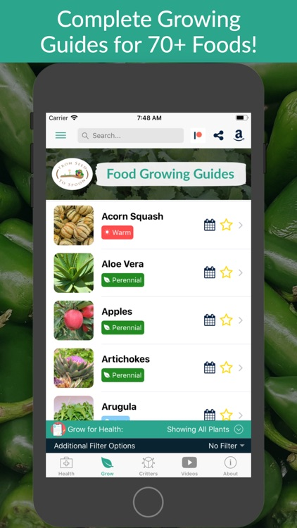 From Seed to Spoon Gardening screenshot-0