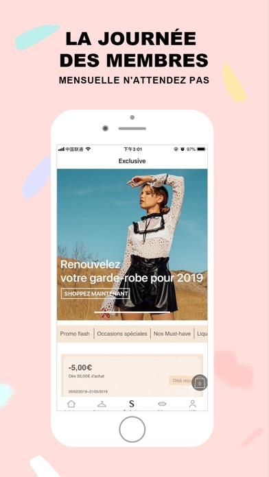 Screenshot for SHEIN-Vente Privee Mode Femme in France App Store