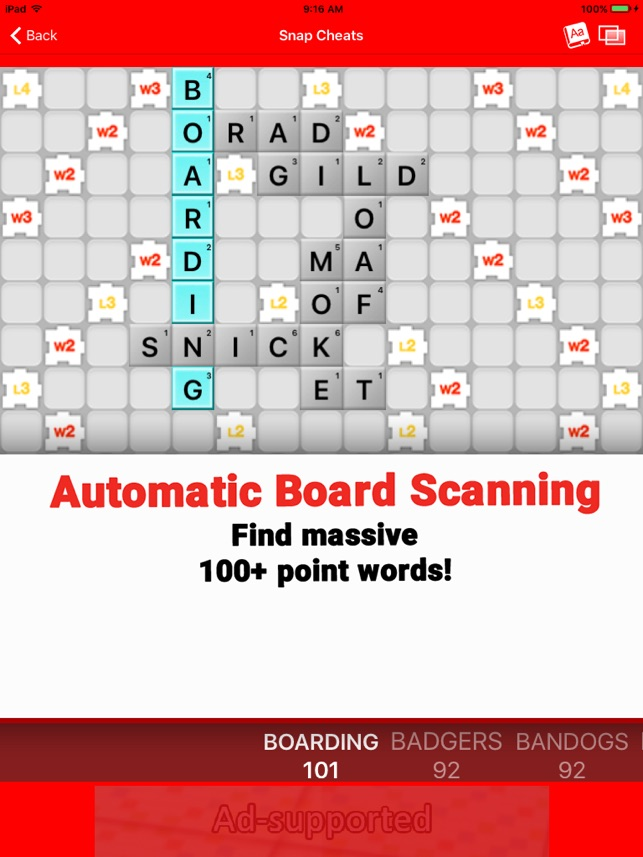 Snap Cheats - for Word Chums on the App Store