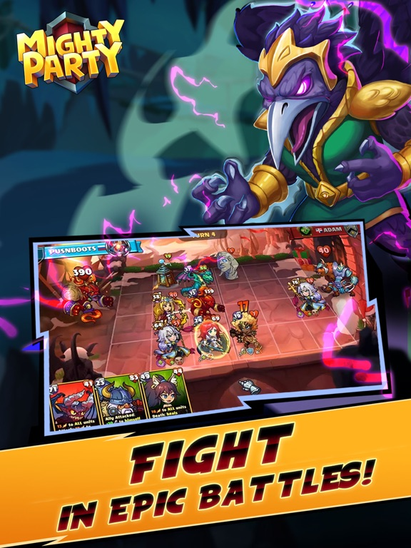 Mighty Party: Battle Heroes screenshot 7