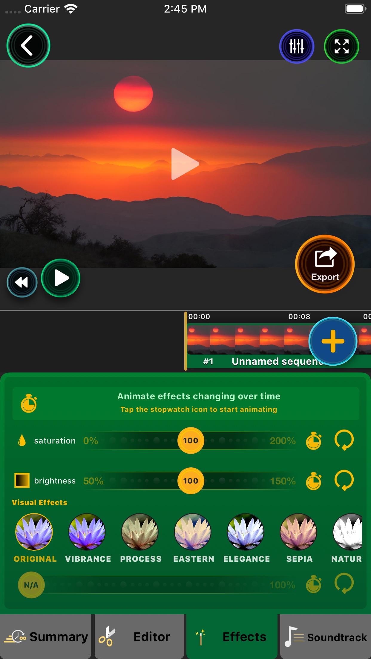 Screenshot do app Lapse It Pro