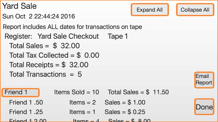 Yard Sale Checkout Register screenshot-3