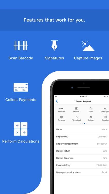 Mobile Forms App - Zoho Forms screenshot-3