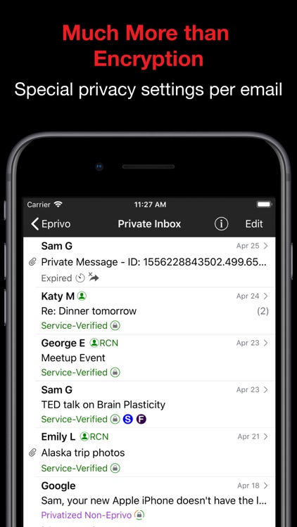 Eprivo Private Email Service screenshot-1