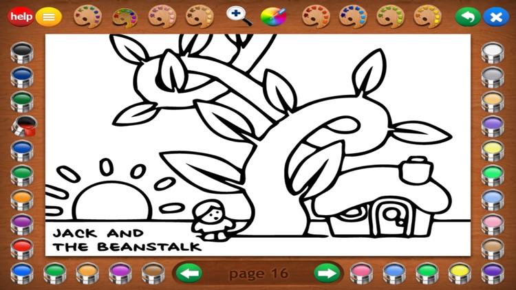 Fairy Tales Coloring Book screenshot-9