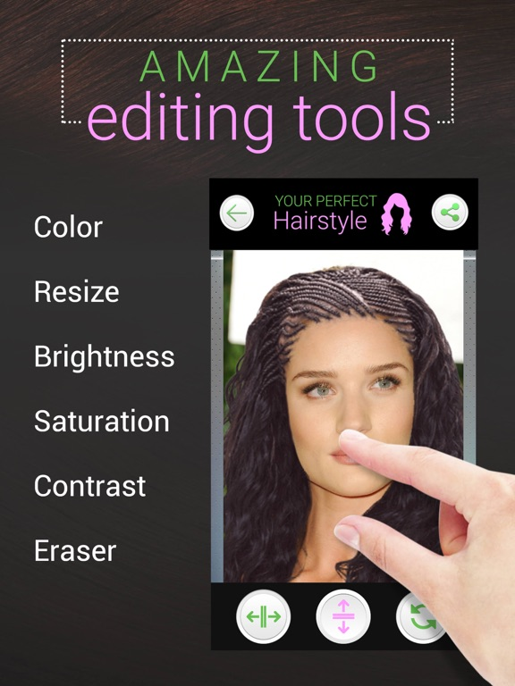 Your Perfect Hairstyle - Try on New Look in Seconds screenshot