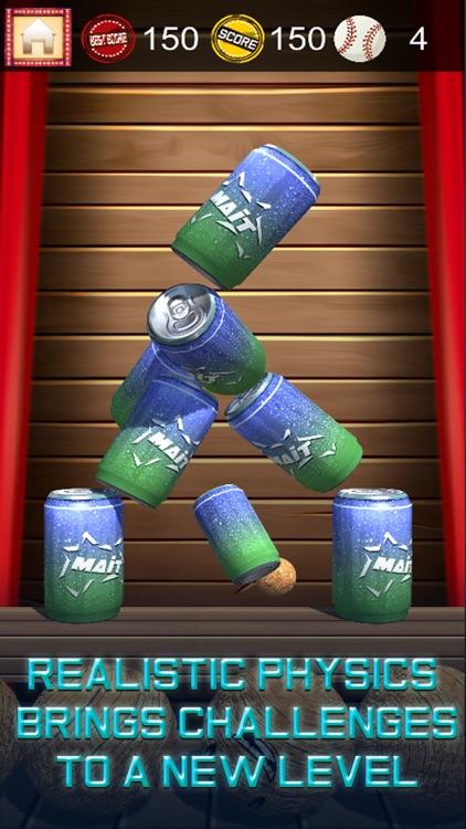Slime vs Cans: Hit Knock Down screenshot-4