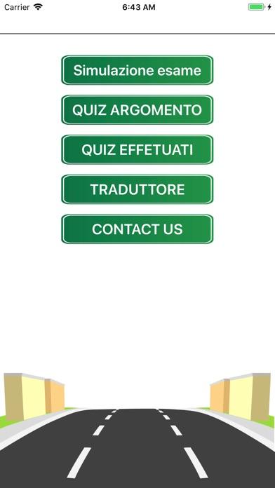 QuizPatente Multilingua screenshot #2