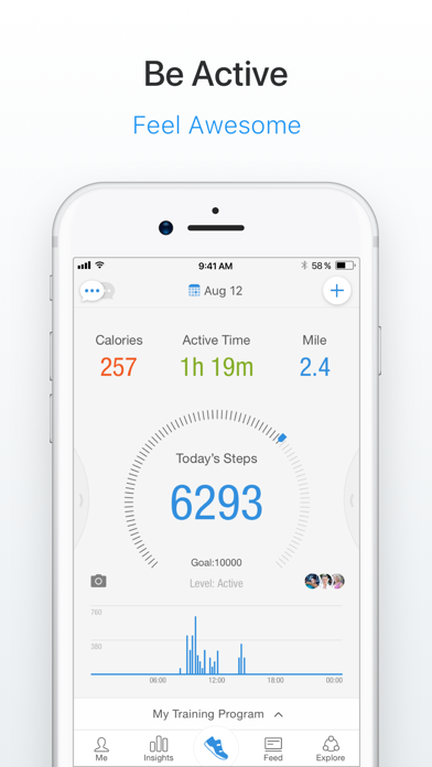 Pacer Pedometer & Step Tracker app image