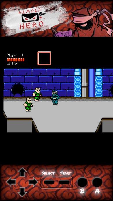 Almost Hero: Retro Hero screenshot 2
