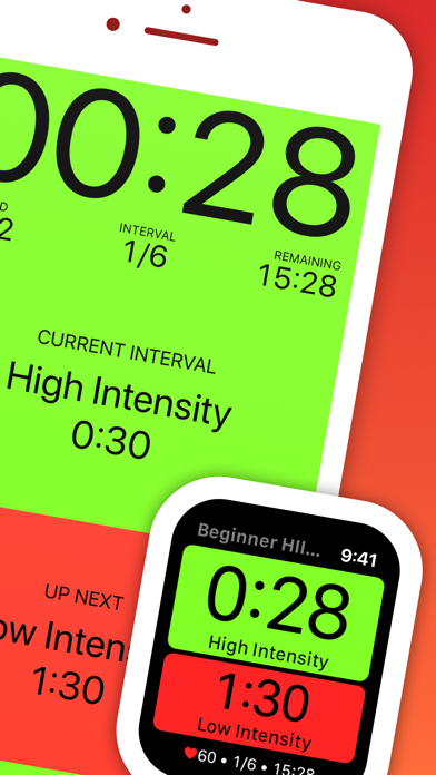 Seconds Pro Interval Timer app image