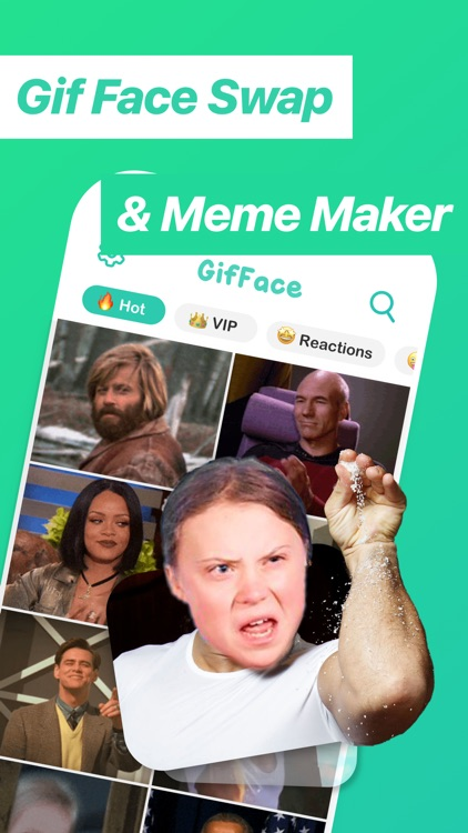 Gif Face Swap & Meme Maker app screenshot-0