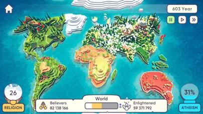 God Simulator. Religion Inc. screenshot 1