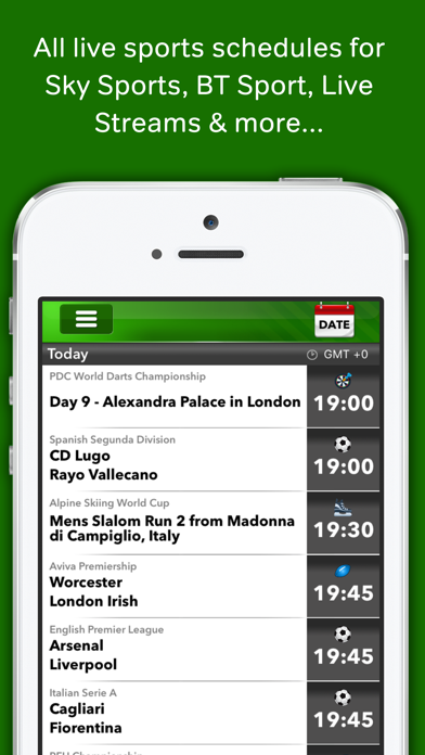 Live Football on TV Guide by WherestheMatch Ltd (iOS, United