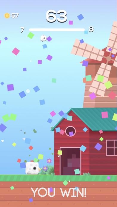 Square Bird. Screenshot 4