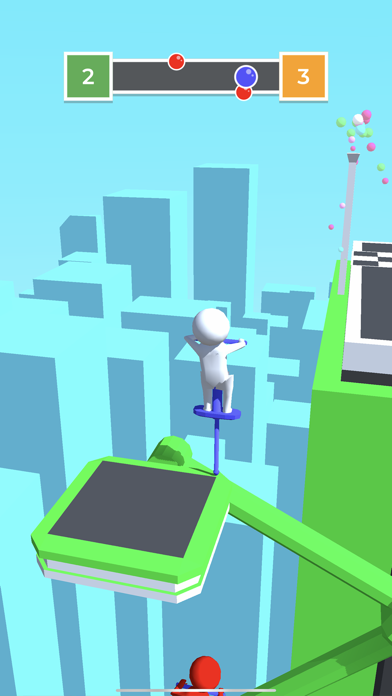 Pogo Race.io screenshot 2