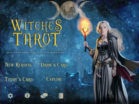 Witches Tarot screenshot