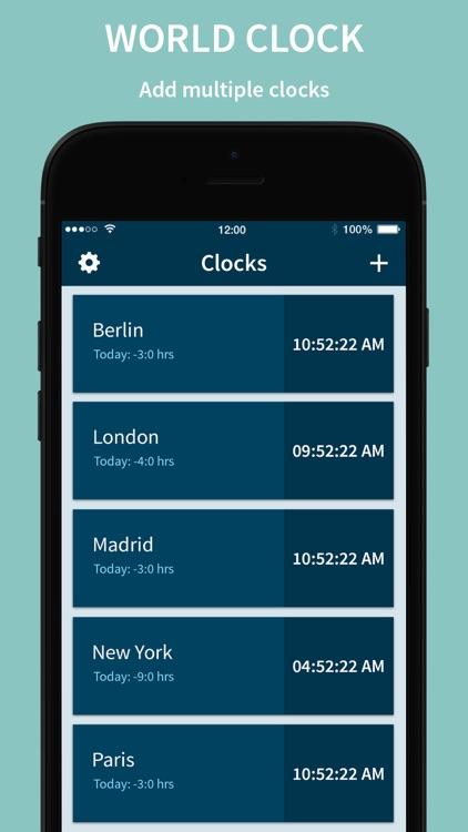 World Clock – Time Widget screenshot-3