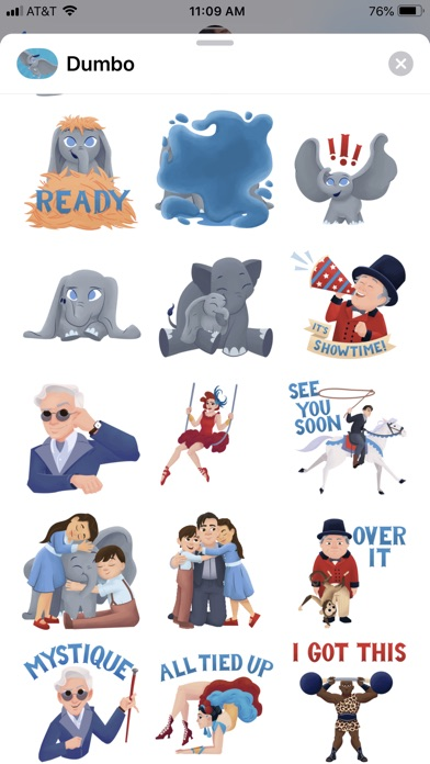 Disney Stickers: Dumbo screenshot 3
