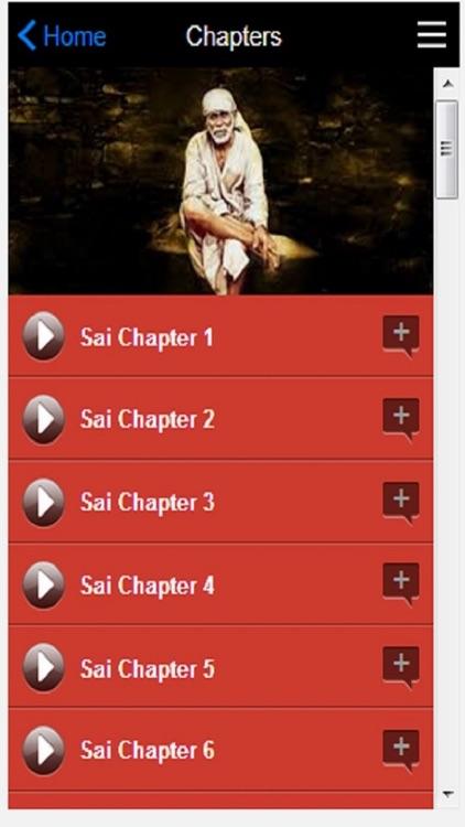 SAI SATCHARITRA AUDIO BOOK