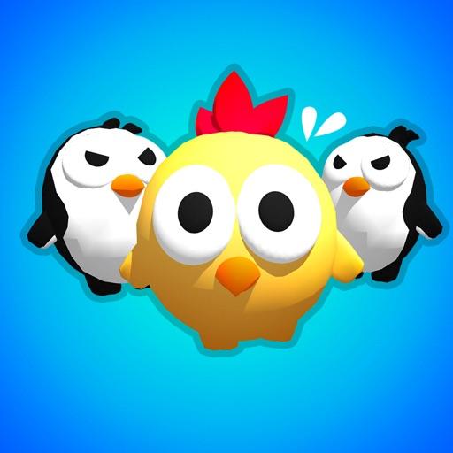 Chick VS Penguins