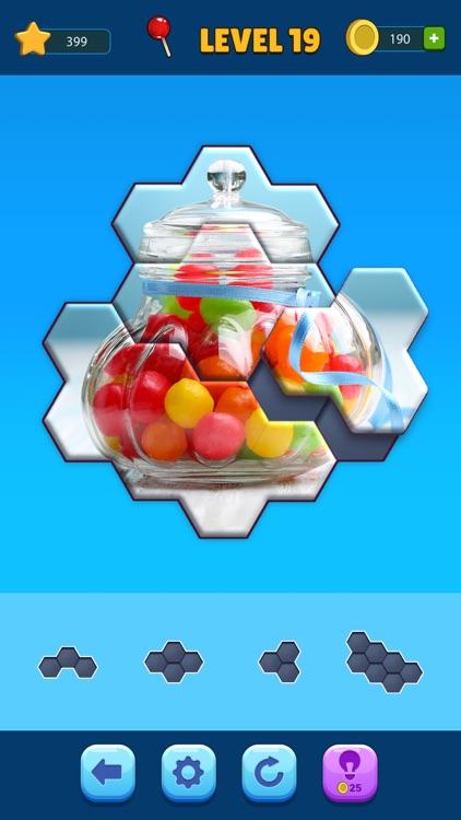 Hexa Jigsaw Puzzle™ screenshot-4