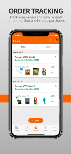 The Home Depot en App Store