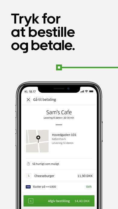 Screenshot for Uber Eats: Madlevering in Denmark App Store