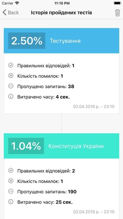 Тест держслужбовця України screenshot 10