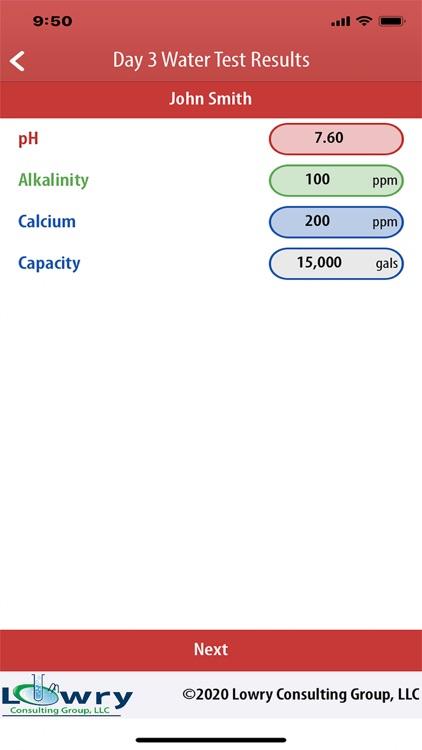 Borate Pool StartUp Calculator screenshot-5