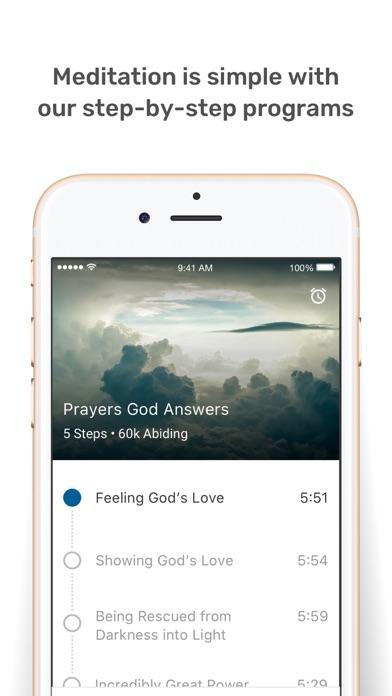 Abide - Christian Meditation Screenshot