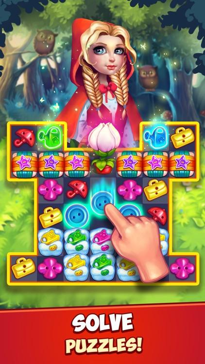 Fancy Blast - Match 3 Puzzles screenshot-0
