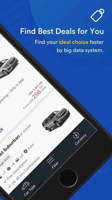 Screenshot for EasyRentCars - Global Car Hire in Azerbaijan App Store