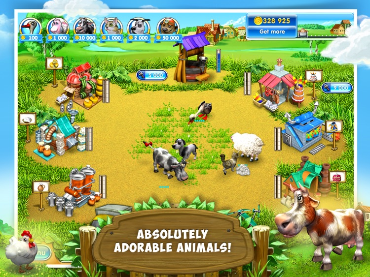 Farm Frenzy 3: Village HD screenshot-0