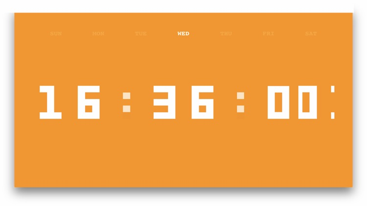 Digit Clock screenshot-3