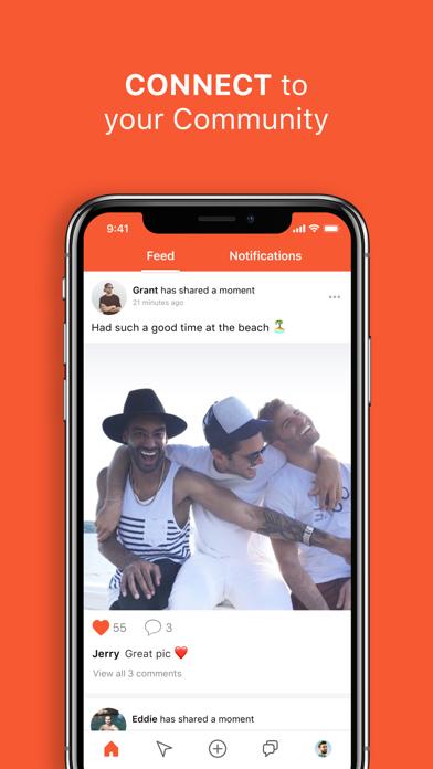 Hornet Gay Social Network review screenshots