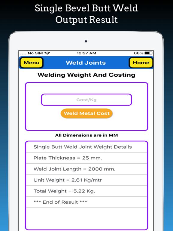 Welding Weight Calculator Pro screenshot 18