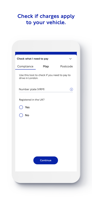 TfL Pay to Drive in London im App Store