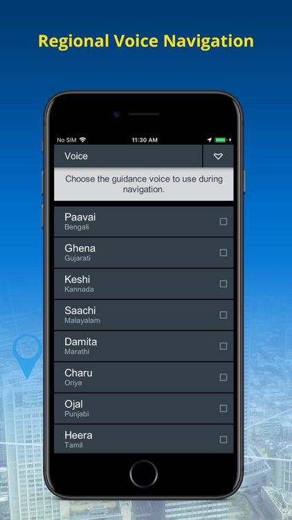 NaviMaps: 3D GPS Navigation screenshot-5