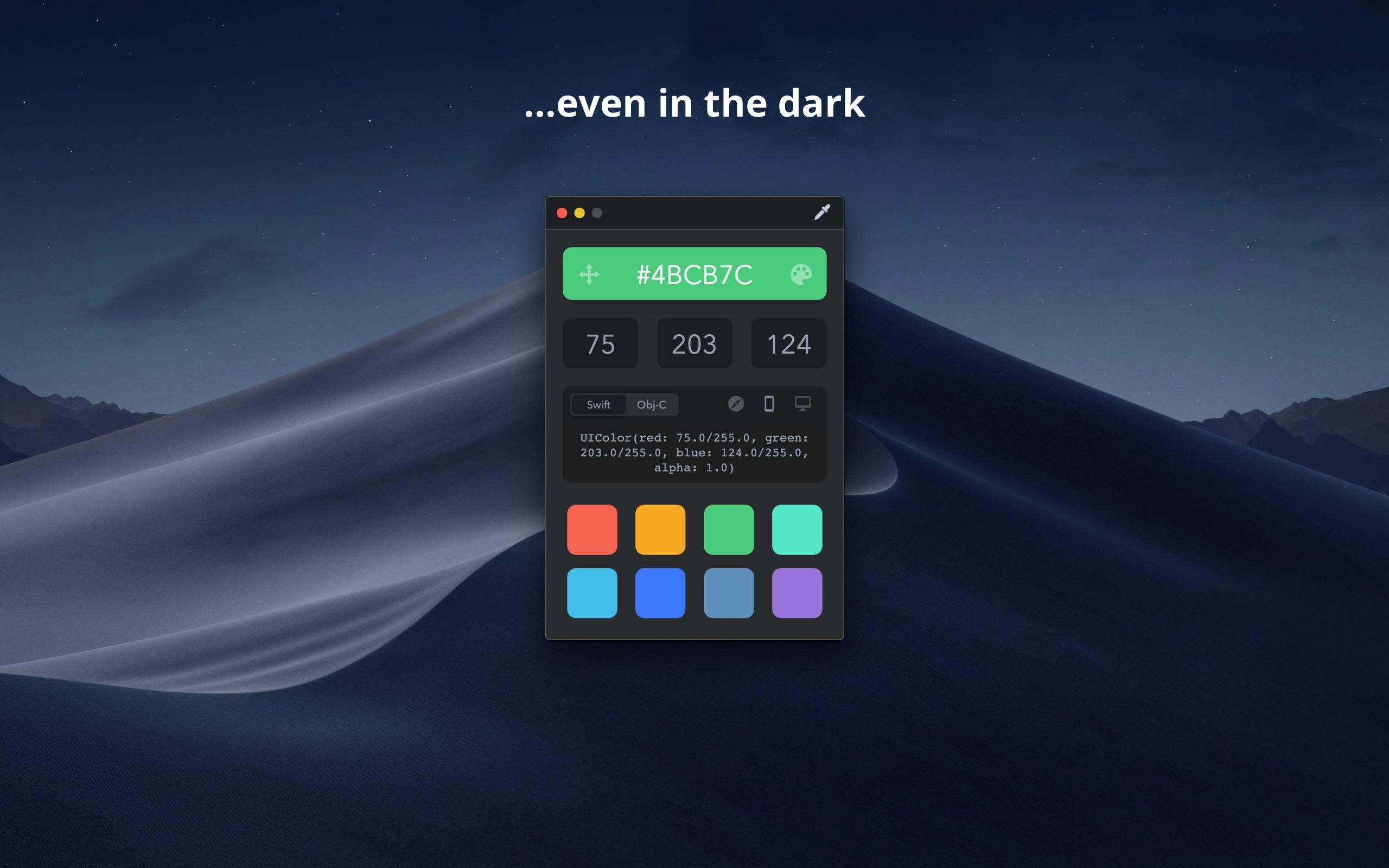 Screenshot do app Drop - Color Picker