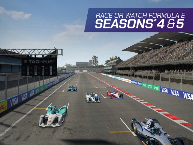 ‎Ghost Racing: Formula E Screenshot