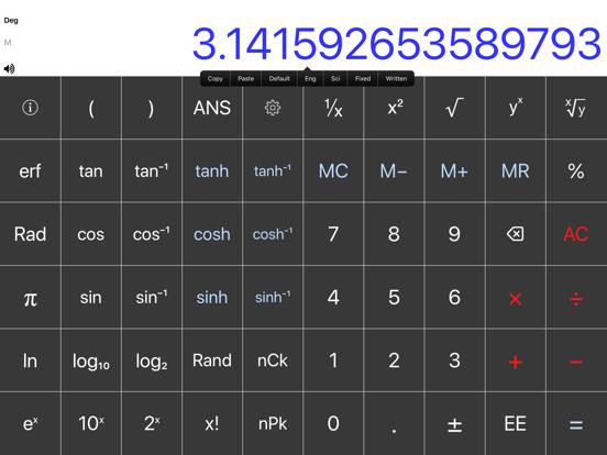 Scientific Calc screenshot