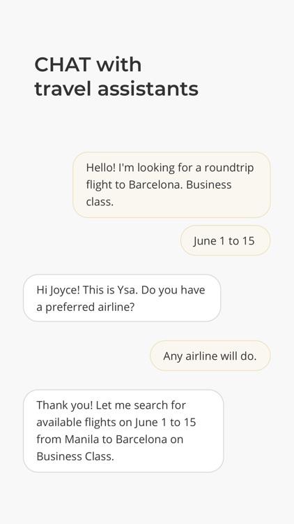 Viyahe Chat & Book Flights
