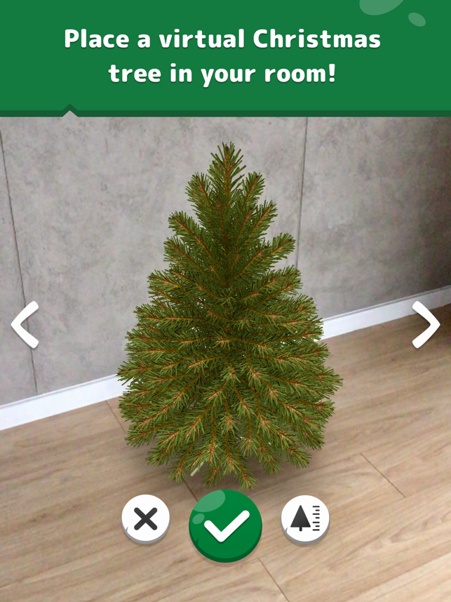 Decorate Virtual Christmas Trees With Pico Christmas Tree AR for iPhone Image