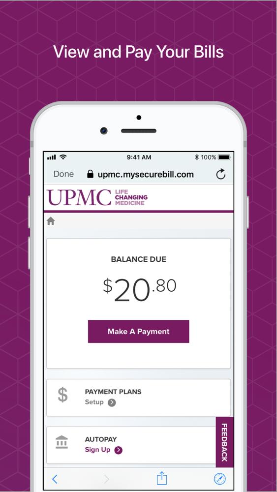 MyUPMC App for iPhone - Free Download MyUPMC for iPad & iPhone at