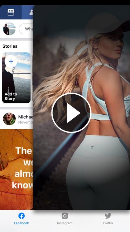 ◉MyPad+ Instagram Facebook app